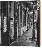 Bourbon Street Diva Wood Print