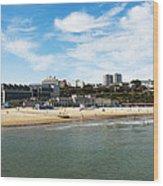 Bournemouth Bay Wood Print