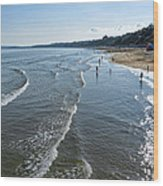 Bournemouth Beach Wood Print