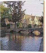 Bourton On The Water 5 Wood Print