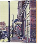 Boutique Lane Wood Print