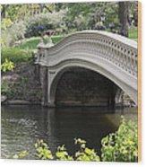 Bow Bridge Iv Wood Print