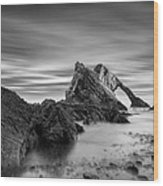 Bow Fiddle Rock 1 Wood Print by Dave Bowman