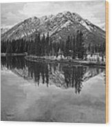 Bow River Banff Alberta Wood Print