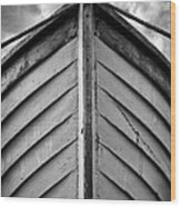 Bow  Wood Print