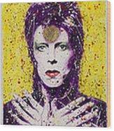 Bowie Wood Print