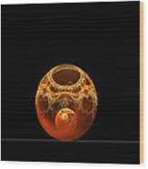 Bowl And Orb Wood Print