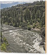 Bowl And Pitcher Area - Riverside State Park - Spokane Washington Wood Print