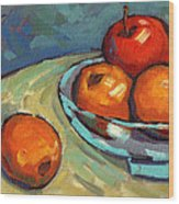 Bowl Of Fruit 2 Wood Print