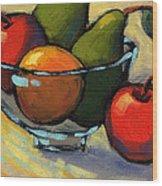 Bowl Of Fruit 5 Wood Print