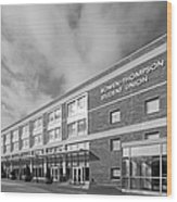 Bowling Green State University Bowen-thompson Student Union Wood Print by University Icons