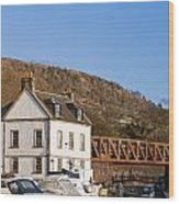 Bowling Harbour House Wood Print
