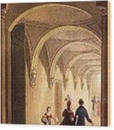 Box Entrance To The English Opera Wood Print