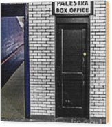 Box Office Of Games Gone By Wood Print