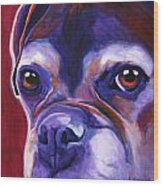 Boxer - Wallace Wood Print by Alicia VanNoy Call
