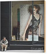 Boy Meets Girl Wood Print