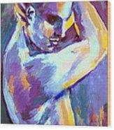 Boy S Figure Wood Print