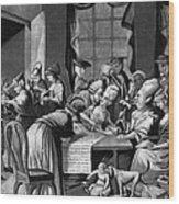 Boycott Of British Tea Wood Print