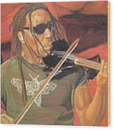 Boyd Tinsley At Red Rocks Wood Print