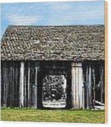 Boyne Barn Wood Print