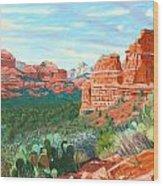 Boynton Canyon Wood Print