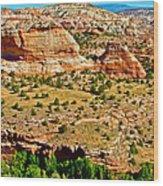 Boynton Overlook On Highway 12 In Grand Staircase-escalante National Monument-utah Wood Print
