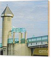 Boyton Beach Bridge Wood Print