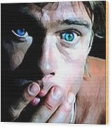 Brad Pitt In The Film The Mexican - Gore Verbinski 2001 Wood Print