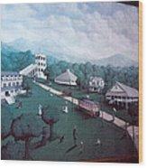 Braddock Heights Mural Wood Print
