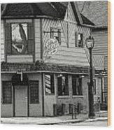 Brady Pub Wood Print