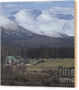 Braeriach From Whitewell Wood Print