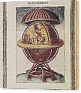 Brahe, Tycho 1546-1601. Danish Wood Print