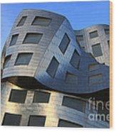 Brain Institute Building Las Vegas Wood Print