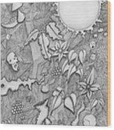 Brain Surgery Wood Print