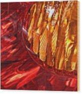Brake Light 17 Wood Print