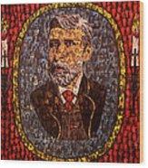Bram Stoker Wood Print