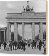 Brandenburger Tor - Berlin Wood Print