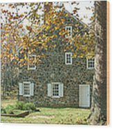 Brandywine House Wood Print