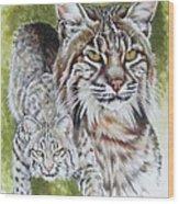 Brassy Wood Print