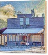 Brauer Real Estate Linwood Kansas Wood Print