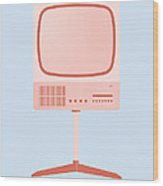 Braun Fs 80 Television Set - Dieter Rams Wood Print by Peter Cassidy