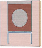 Braun L2 Loudspeaker - Dieter Rams Wood Print by Peter Cassidy