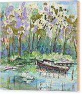 Bray Sur Seine 01 Wood Print