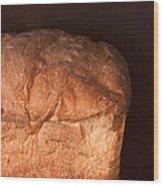 Bread Wood Print