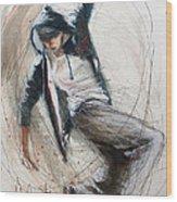 Break Dancer1 Wood Print