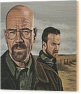 Breaking Bad Wood Print