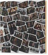 Breaking Dawn Part 2 Pile Of Pics Wood Print