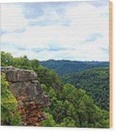 Breaks Interstate Park Virginia Kentucky Rock Valley View Overlook Wood Print