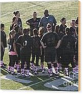 Breast Cancer Games 7285 Wood Print