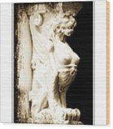Breasted Column Wood Print